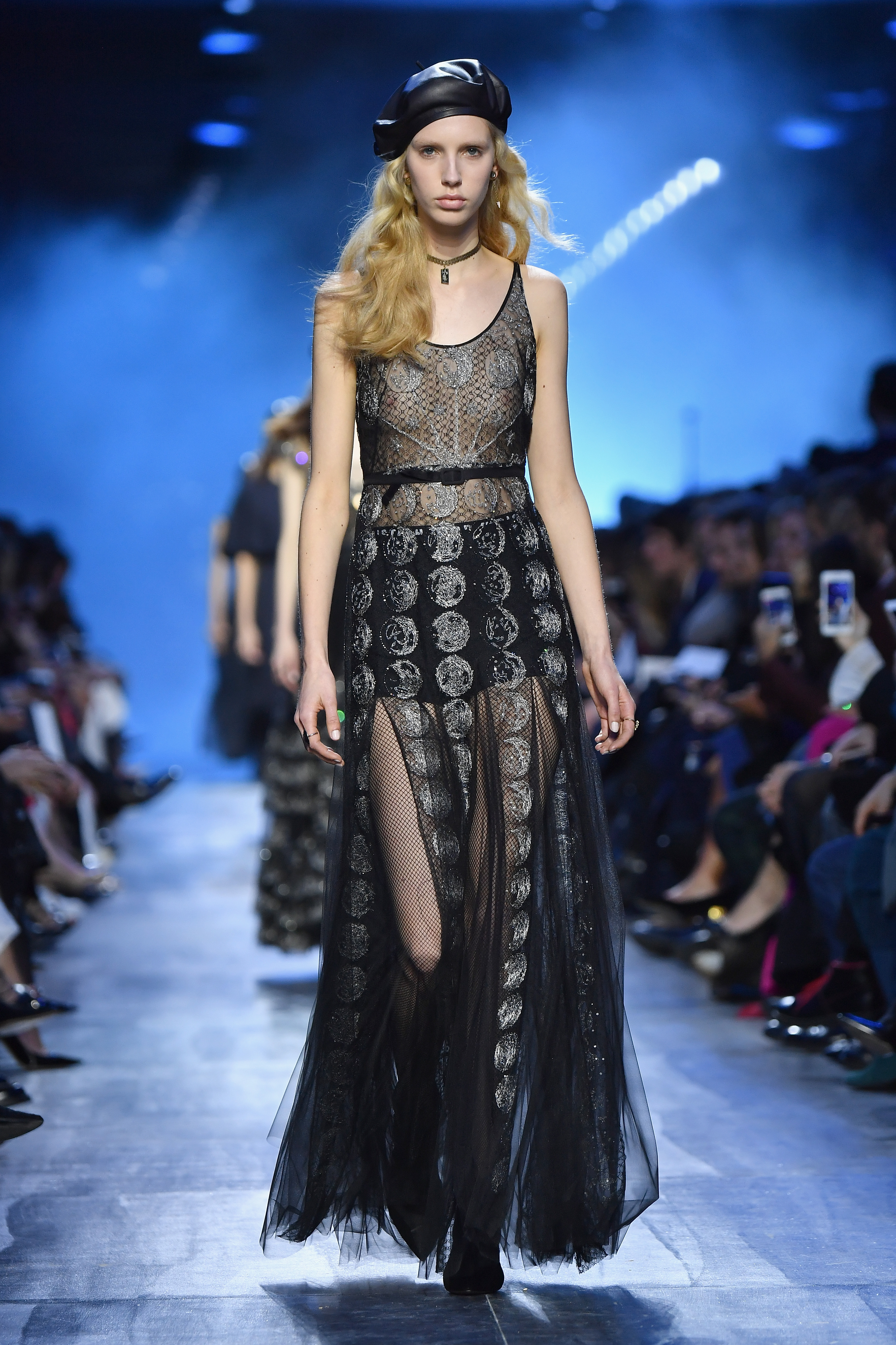 Maria Grazia Chiuri's Blue Period: Christian Dior Fall ...