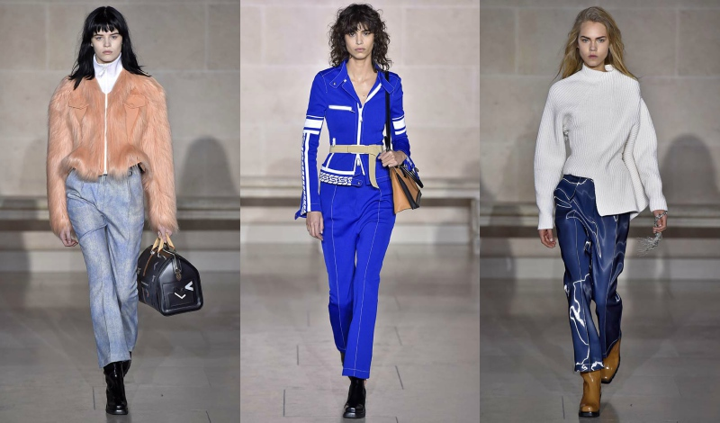 84976e76255 Louis Vuitton invited guests to the Cour Marly in the Richelieu wing of the  Louvre this season for the first-ever fashion show to be presented in the  heart ...