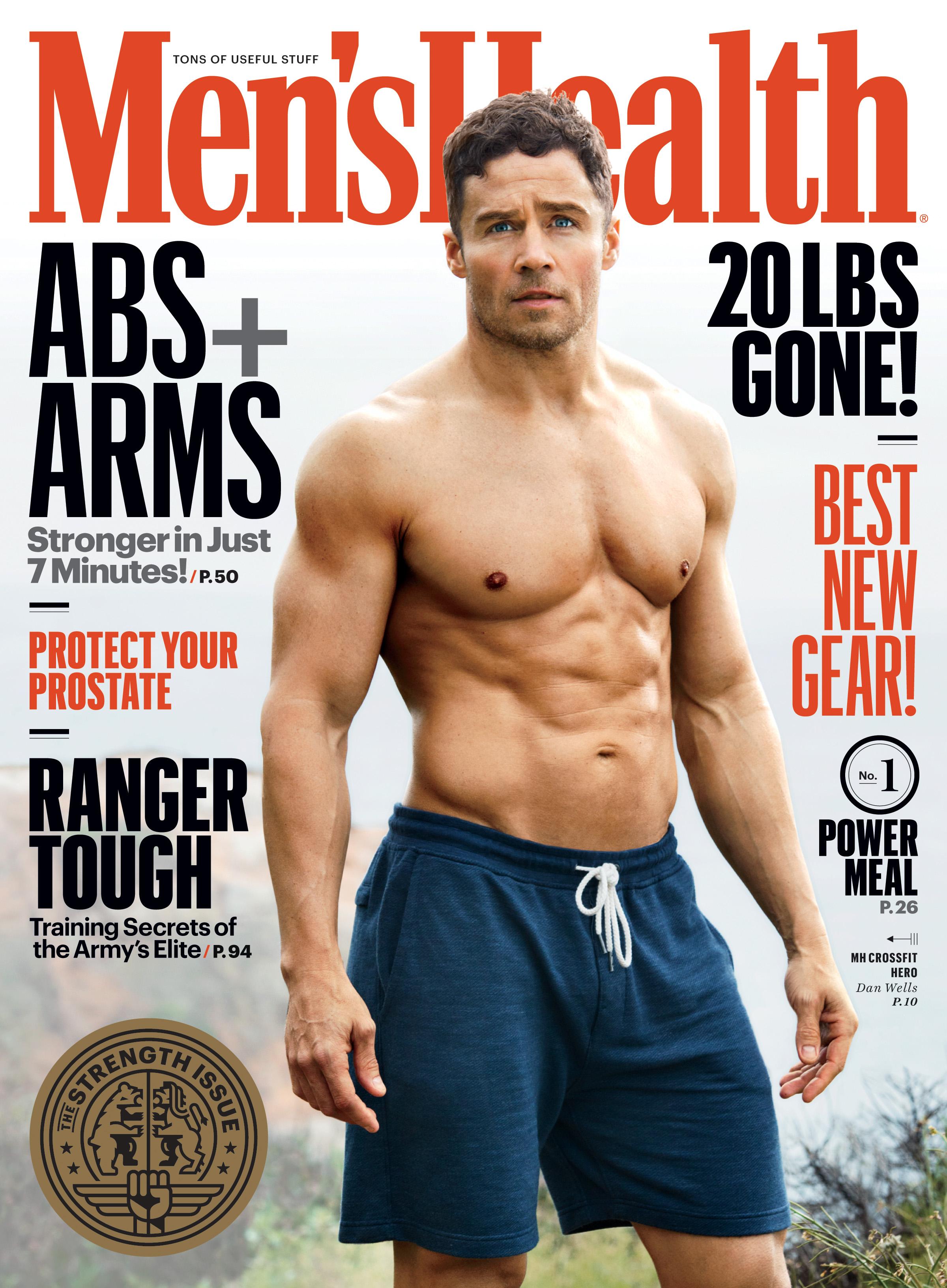Mens Health Magazine President Barack Obama Instant Energy: Men's Health Undergoes Editorial Revamp