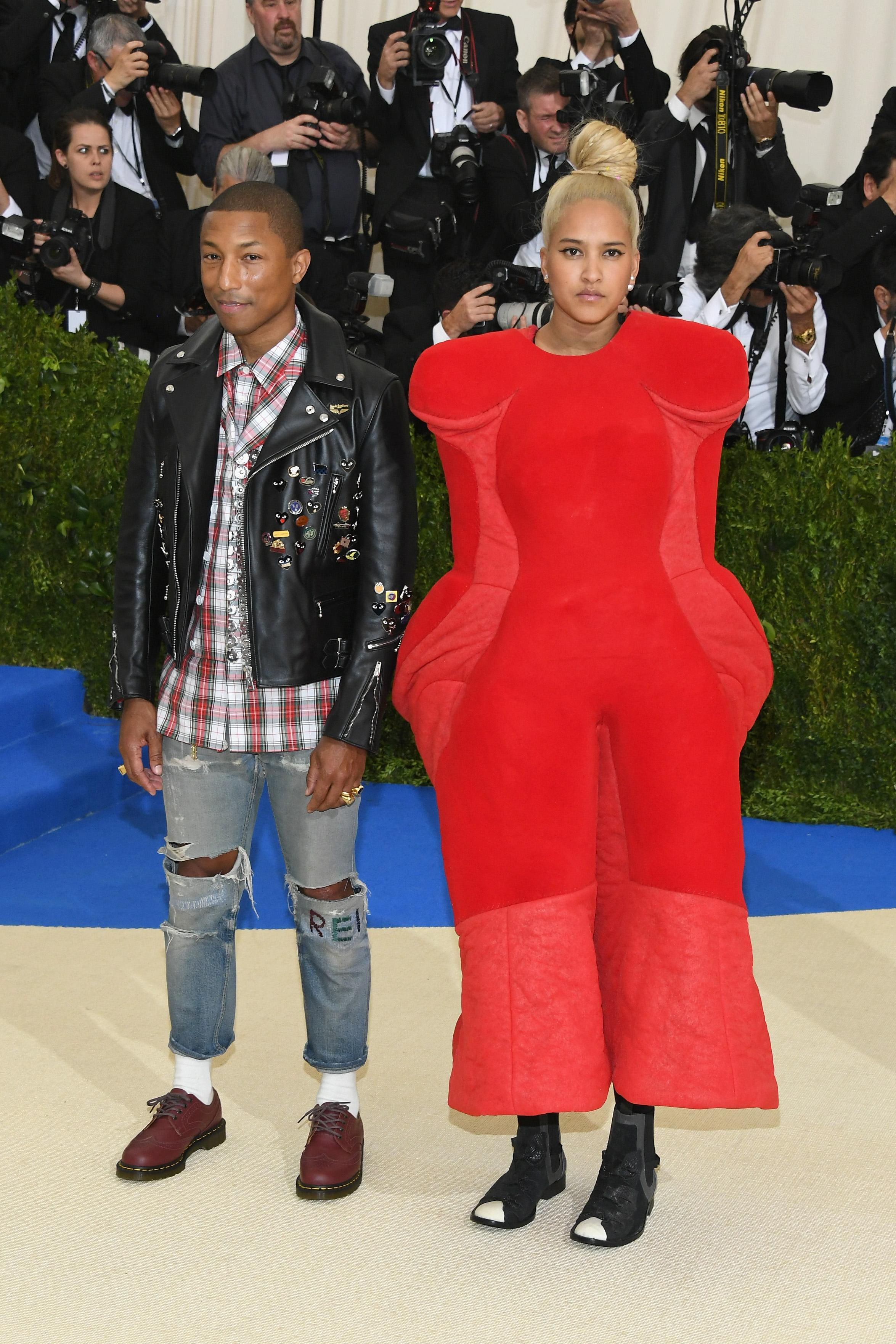 8c362ec30442 7 People Who Actually Wore Comme des Garçons to the Met Gala
