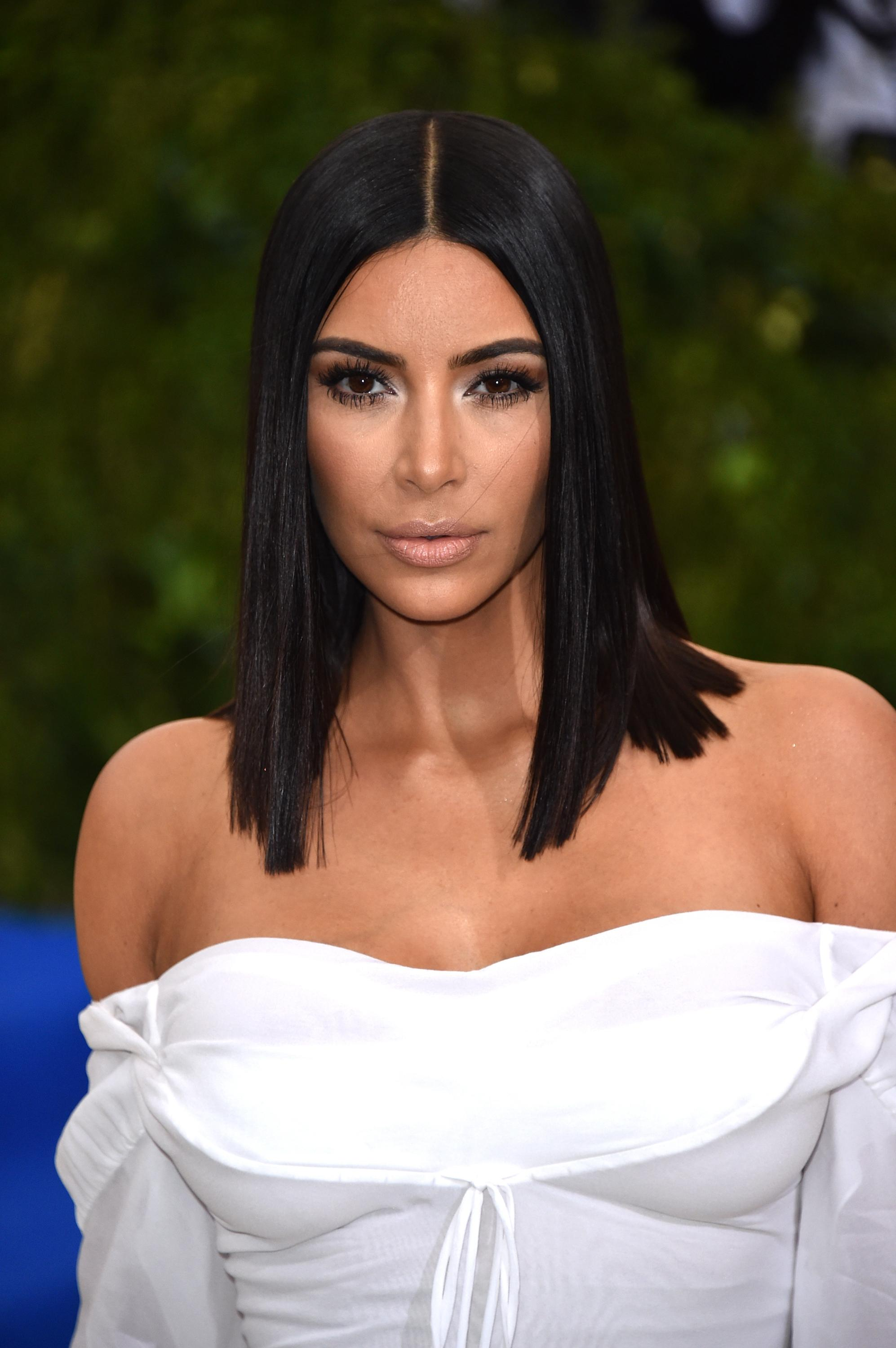 New York Ny May 01 Kim Kardashian Attends Rei Kawakubo Comme Des Garcons Art Of The In Between Costume Insute Gala At Metropolitan Museum