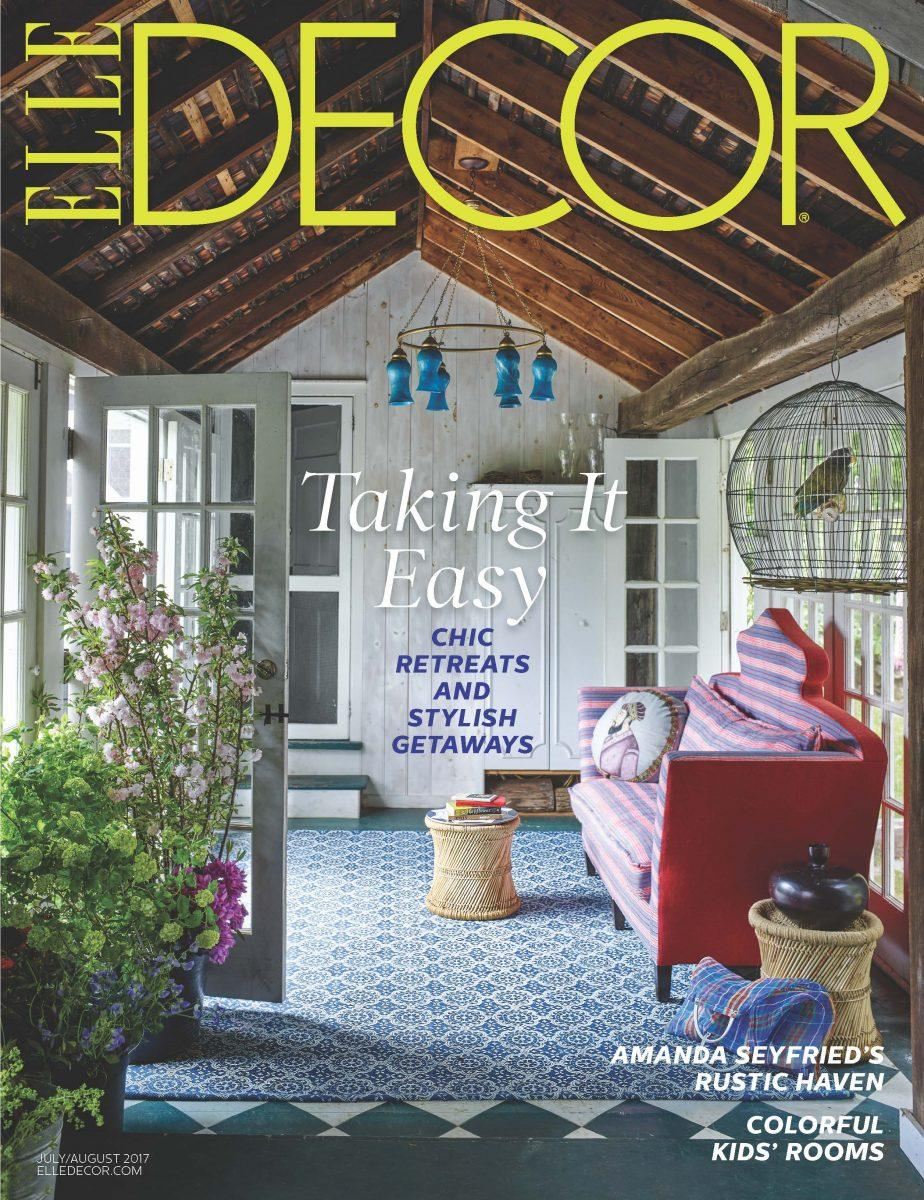 elle decor names whitney robinson editor in chief daily front row