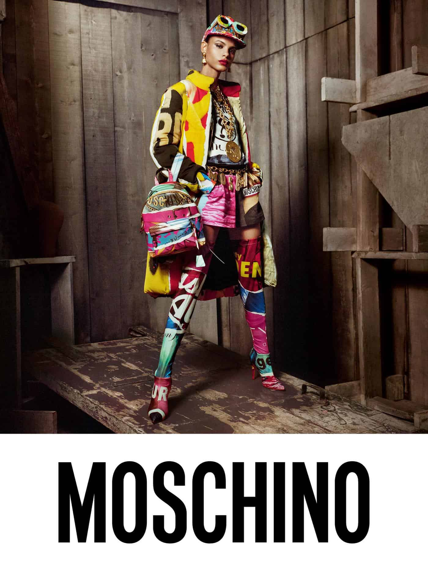 Moschino Fall Winter 2014 15 Women S Collection: Steven Meisel Lenses Moschino's Fall 2017 Campaign