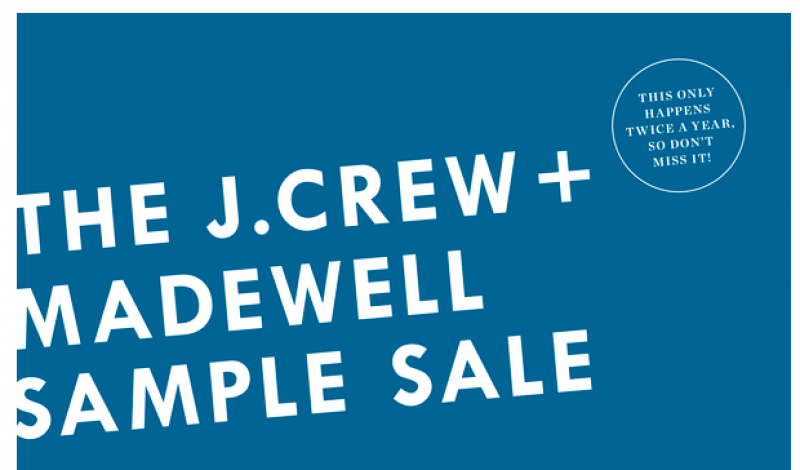 J.Crew + Madewell Sample Sale - Daily Front Row