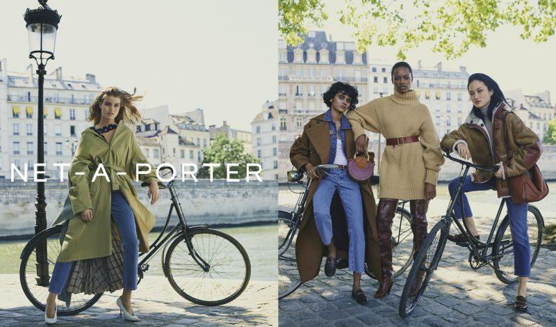Net a porter heads to paris for fall winter 39 17 campaign for Mr porter logo