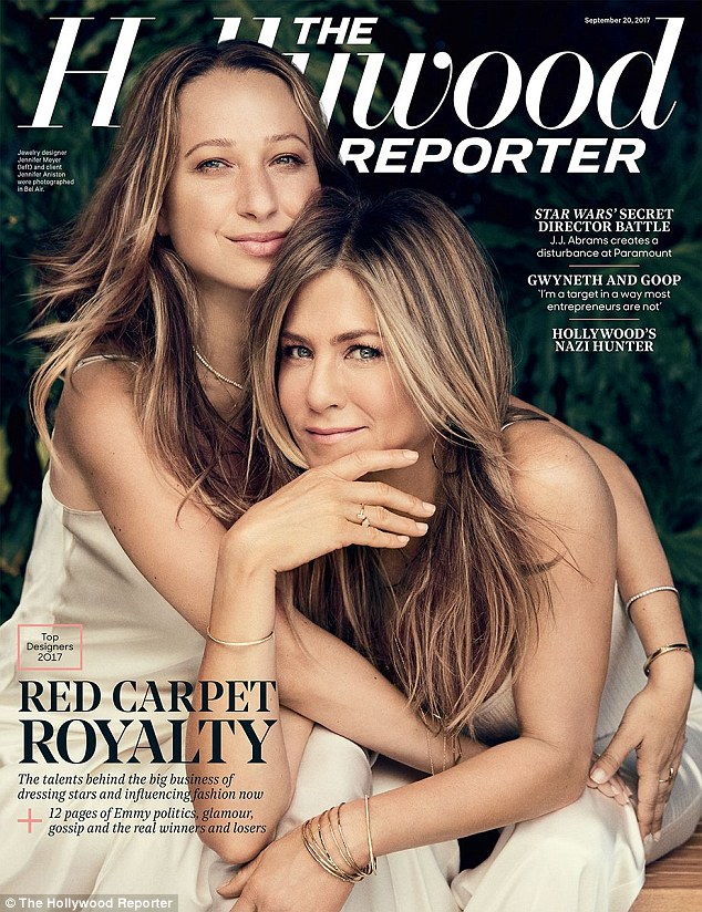 Jennifer Aniston And Jennifer Meyer Cover The Hollywood Reporter
