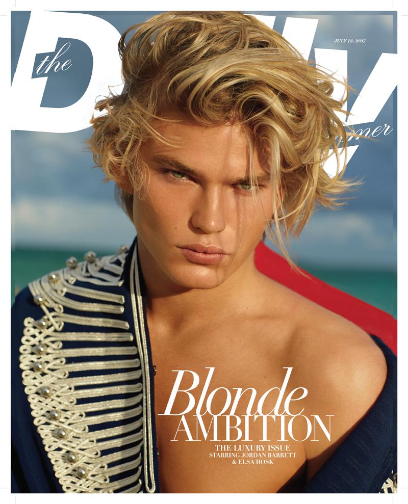 performance sportswear order outlet store FMA Winner: Jordan Barrett, Male Model of the Year - Daily ...