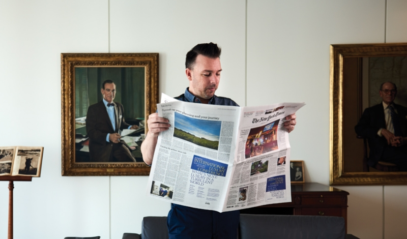 fashionweekdaily.com - Daniel Chivu - Choire Sicha on His Plans for NYT Styles, His Gawker Days, and More