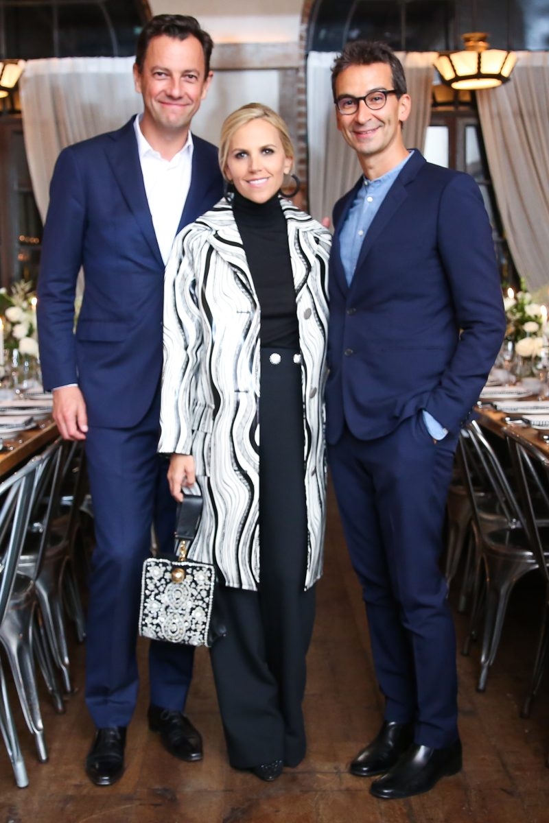 Pierre Yves Roussel Tory Burch Federico Marchetti Daily Front Row