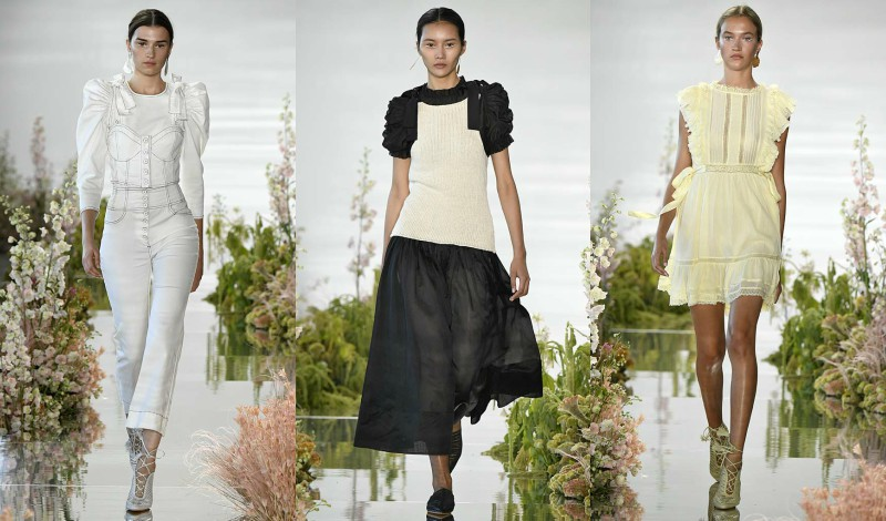08f792c0a875 Romance is in bloom at Ulla Johnson and it felt like a welcome breath of  fresh air and optimism for the debut of New York Fashion Week.