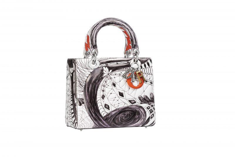 9c15b37a774 Christian Dior Invites 10 Artists to Reimagine Lady Dior Bag - Daily ...