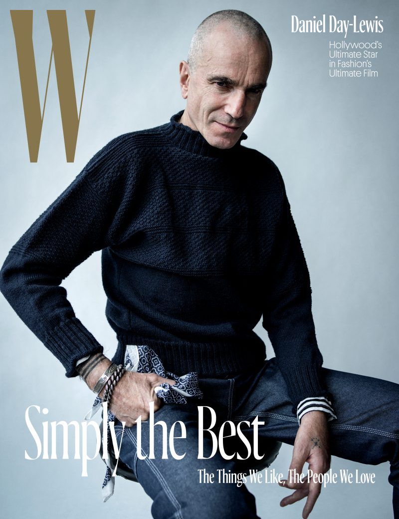 Daniel Day Lewis Covers W Magazine S Holiday Issue