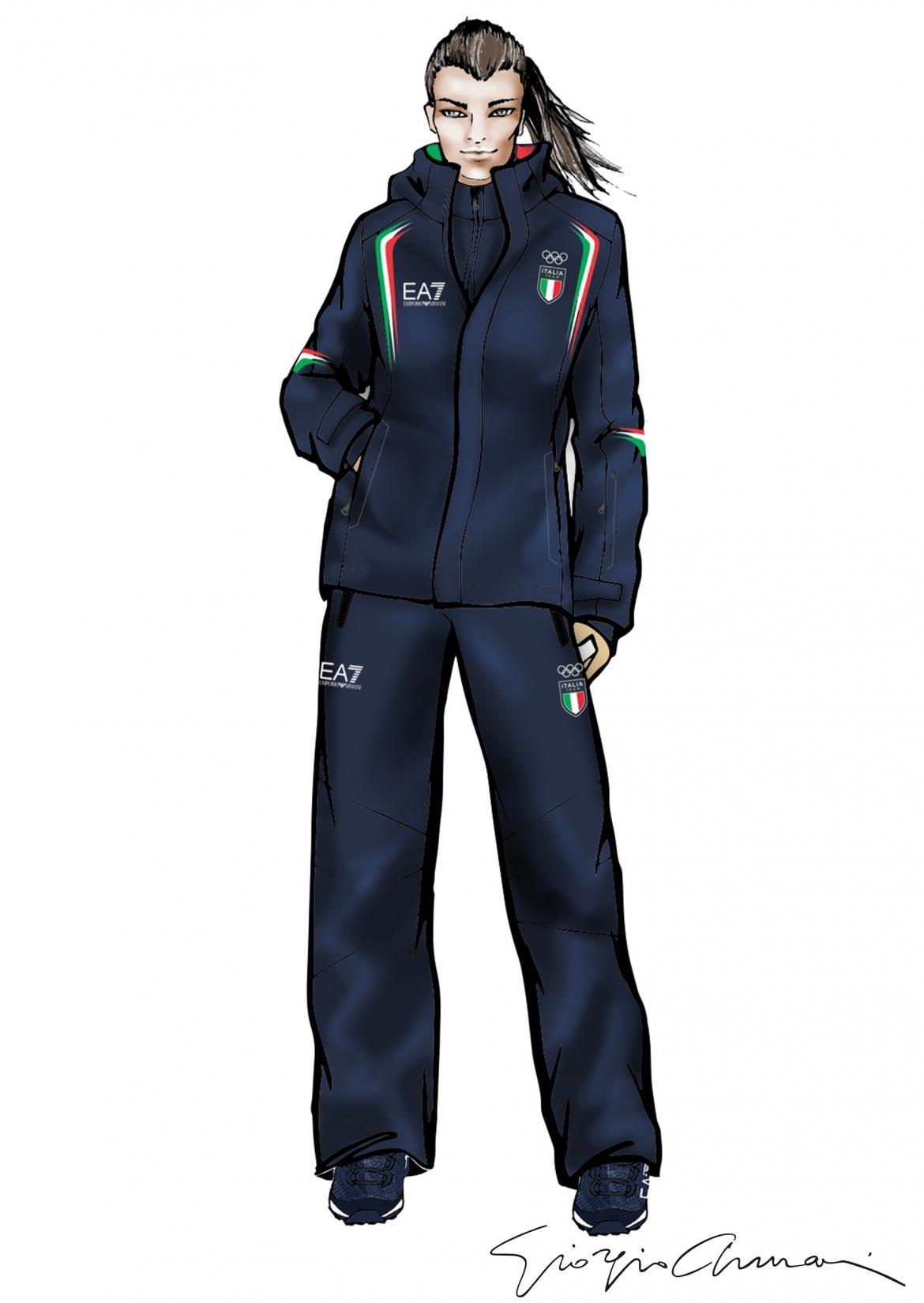 Giorgio Armani Will Outfit The Italian Olympic And