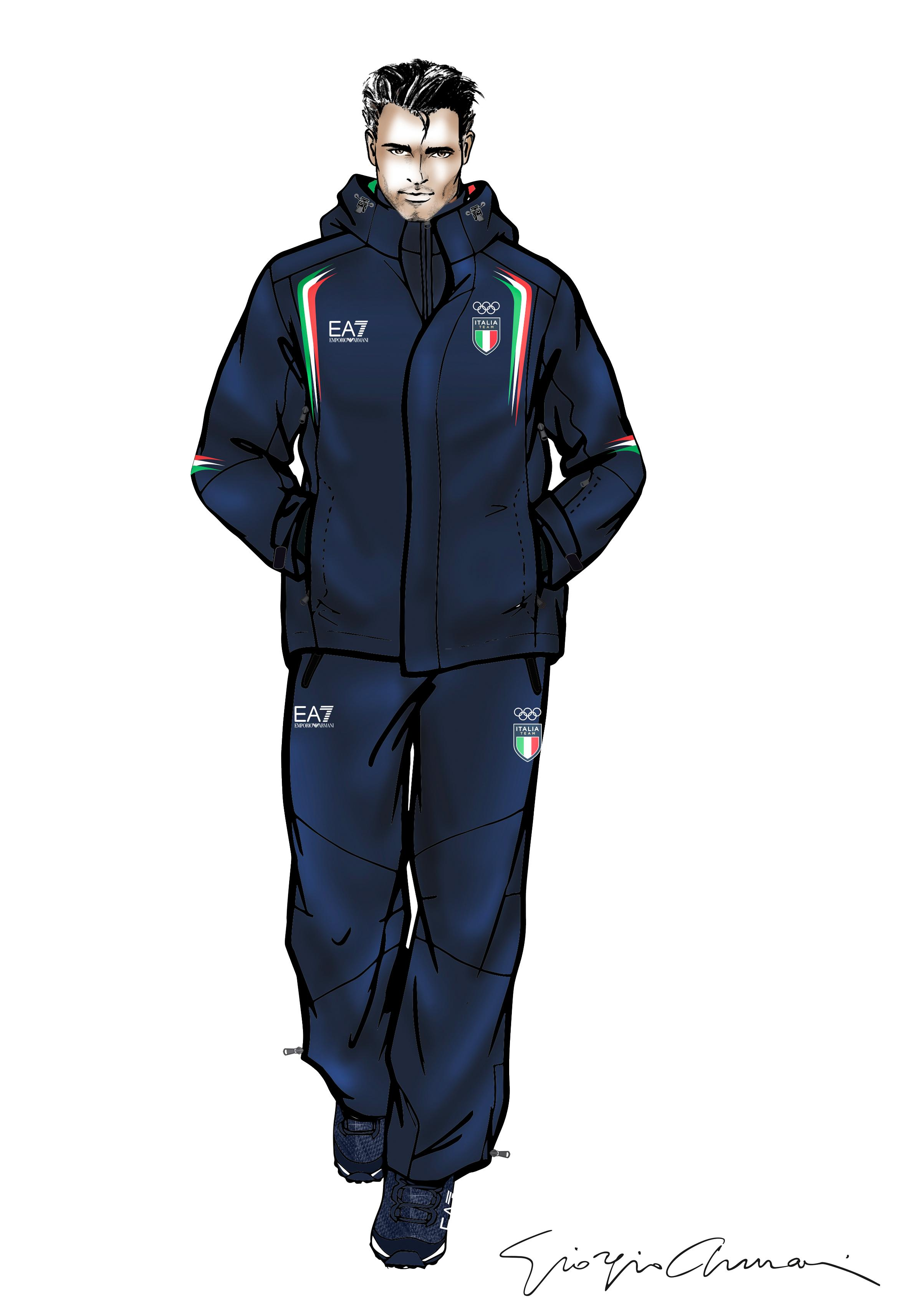 bbb959a2b EA7 Emporio Armani will be the official outfitter of the 2018 Italian  Olympic and Paralympic teams for the Winter Games in Pyeongchang, South  Korea.