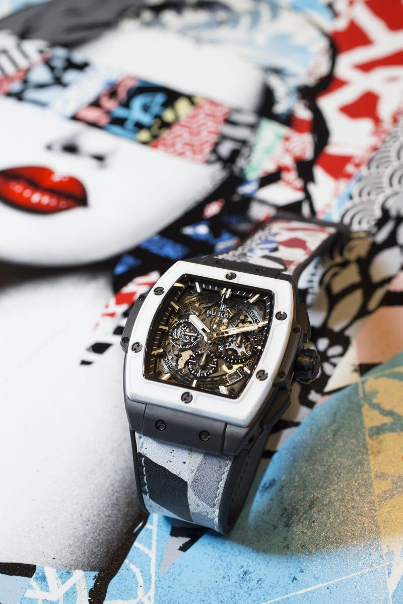 hublot celebrates art basel with three new watches the hublot design prize and a dinner with. Black Bedroom Furniture Sets. Home Design Ideas