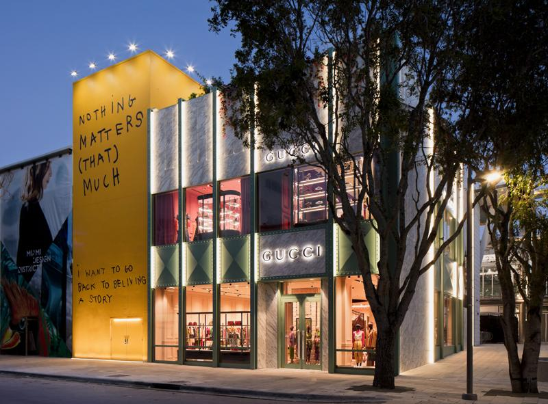 Gucci Opens In Miami S Design District Just In Time For