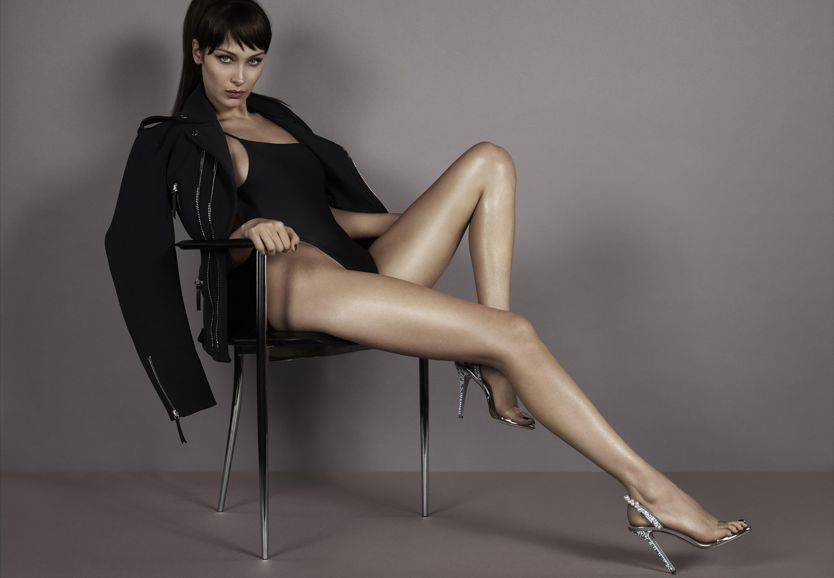 Legs for Days! Bella Hadid Sizzles in New Giuseppe Zanotti ...