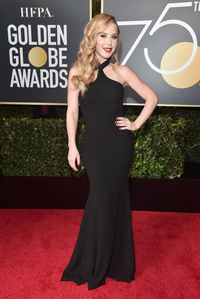 71 Stunning Black Dresses From The Golden Globes Red Carpet Daily