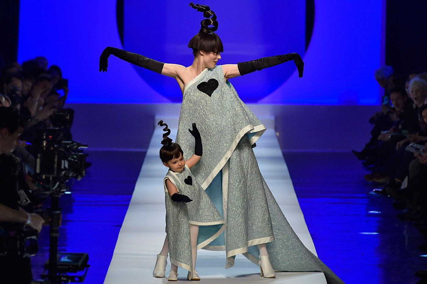 Coco Rocha's 2-Year-Old Daughter Stole the Show at Jean ...
