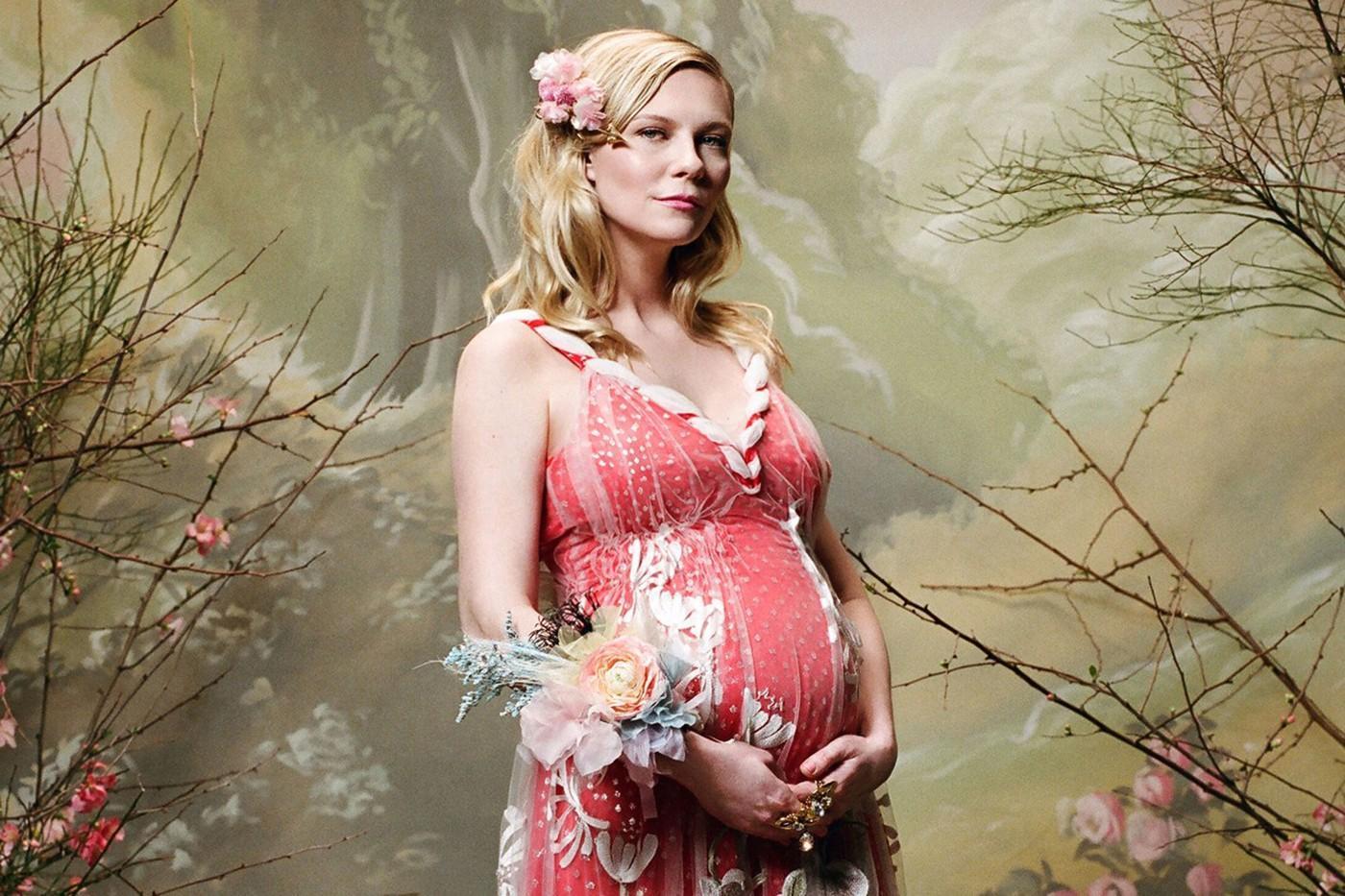 Kirsten Dunst Confirms Her Pregnancy in Rodarte Lookbook Shoot