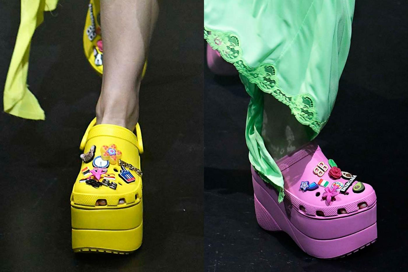 d736b989db2 OMG Those Balenciaga Platform Crocs Sold Out In Less Than a Day on Pre-Order