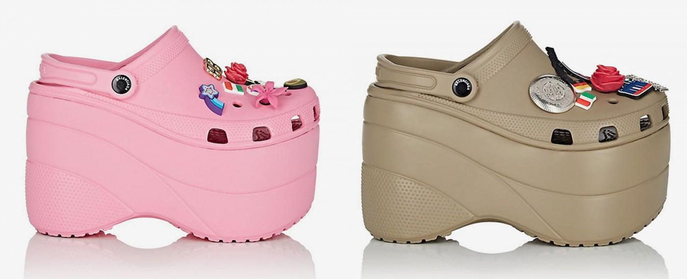 f17f22ef1 OMG Those Balenciaga Platform Crocs Sold Out In Less Than a Day on ...