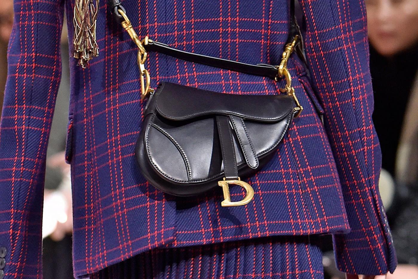 dior is bringing back the saddle bag  u2014 maria grazia chiuri resurrects a classic