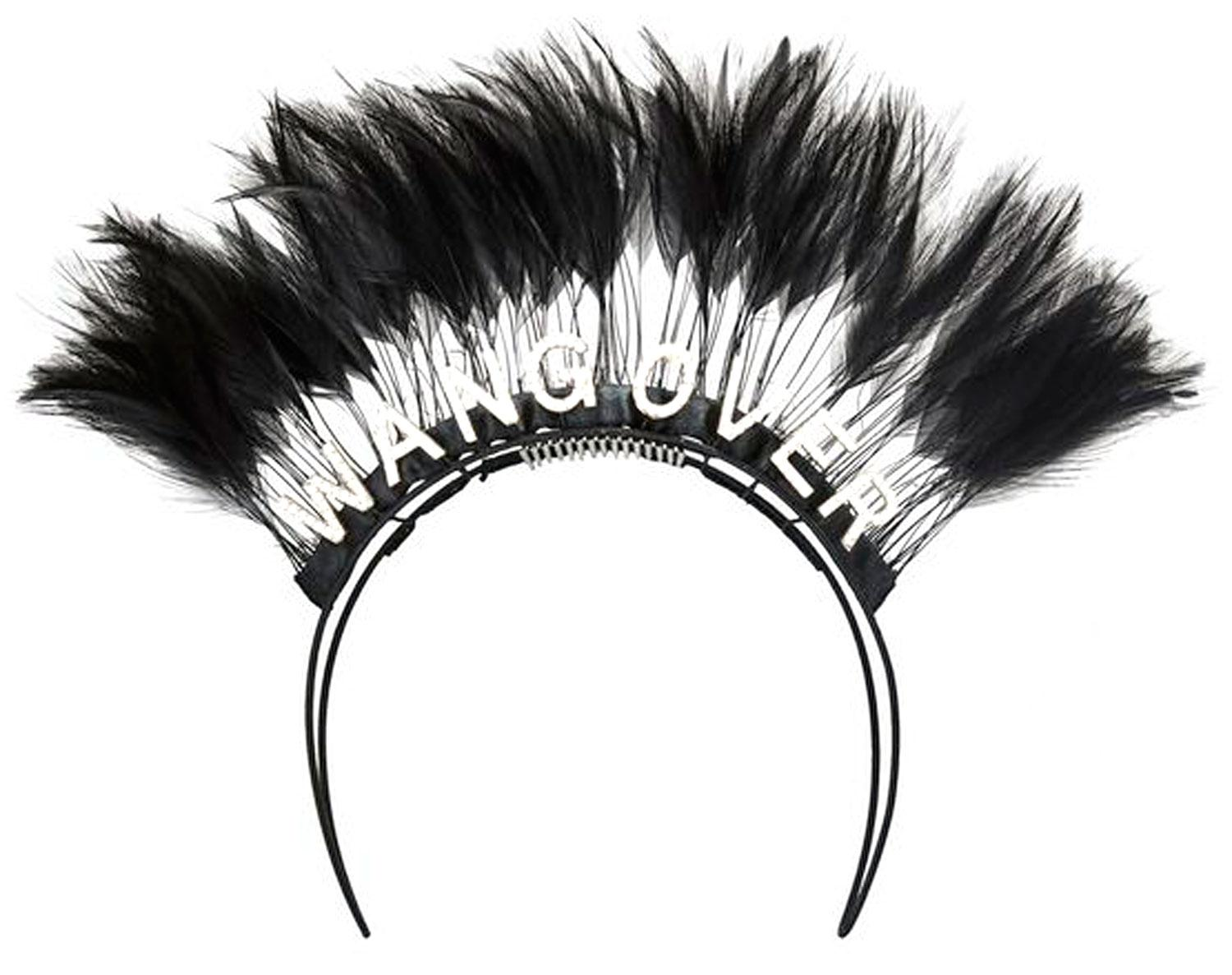 Alexander Wang s Feather Headbands Cost  6000 d362553f884