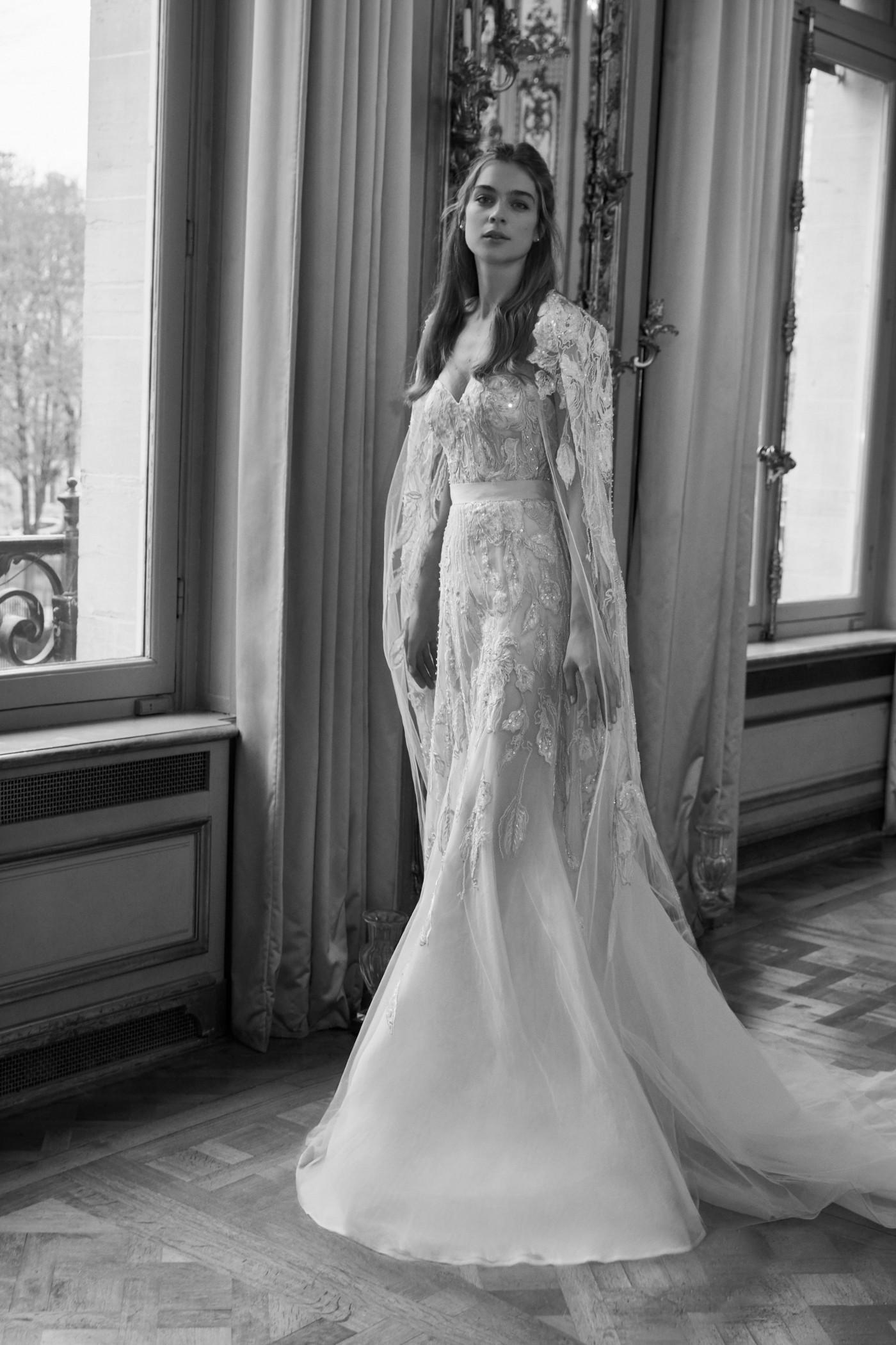 cbe9c22748a 14 Best Wedding Dress Trends From the Spring 2019 Bridal Shows