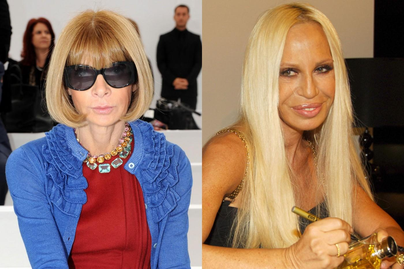 Anna wintour and donatella versace vacationed together on for Donatella versace beach