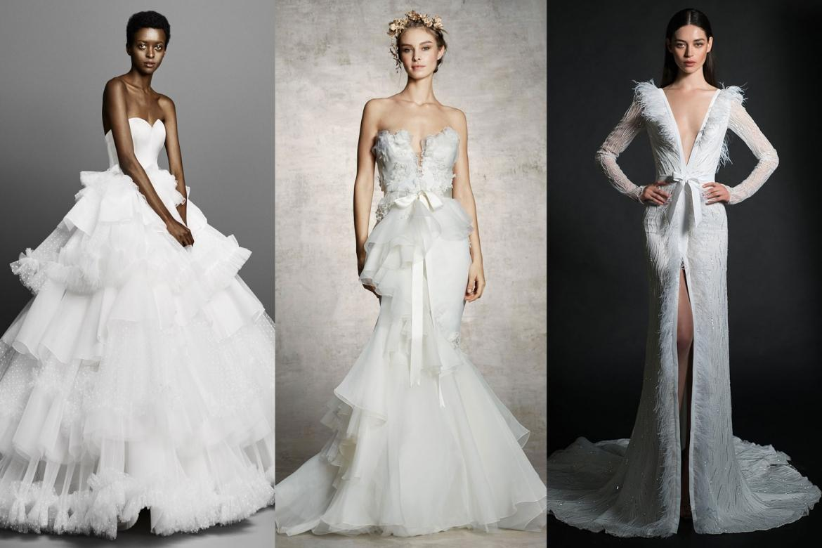 14 Best Wedding Dress Trends From The Spring 2019 Bridal Shows