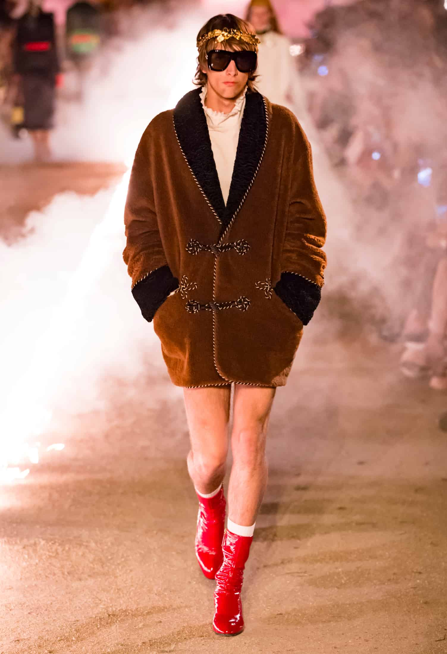 Gucci S 2019 Cruise Show Was Creepy Af In A Good Way