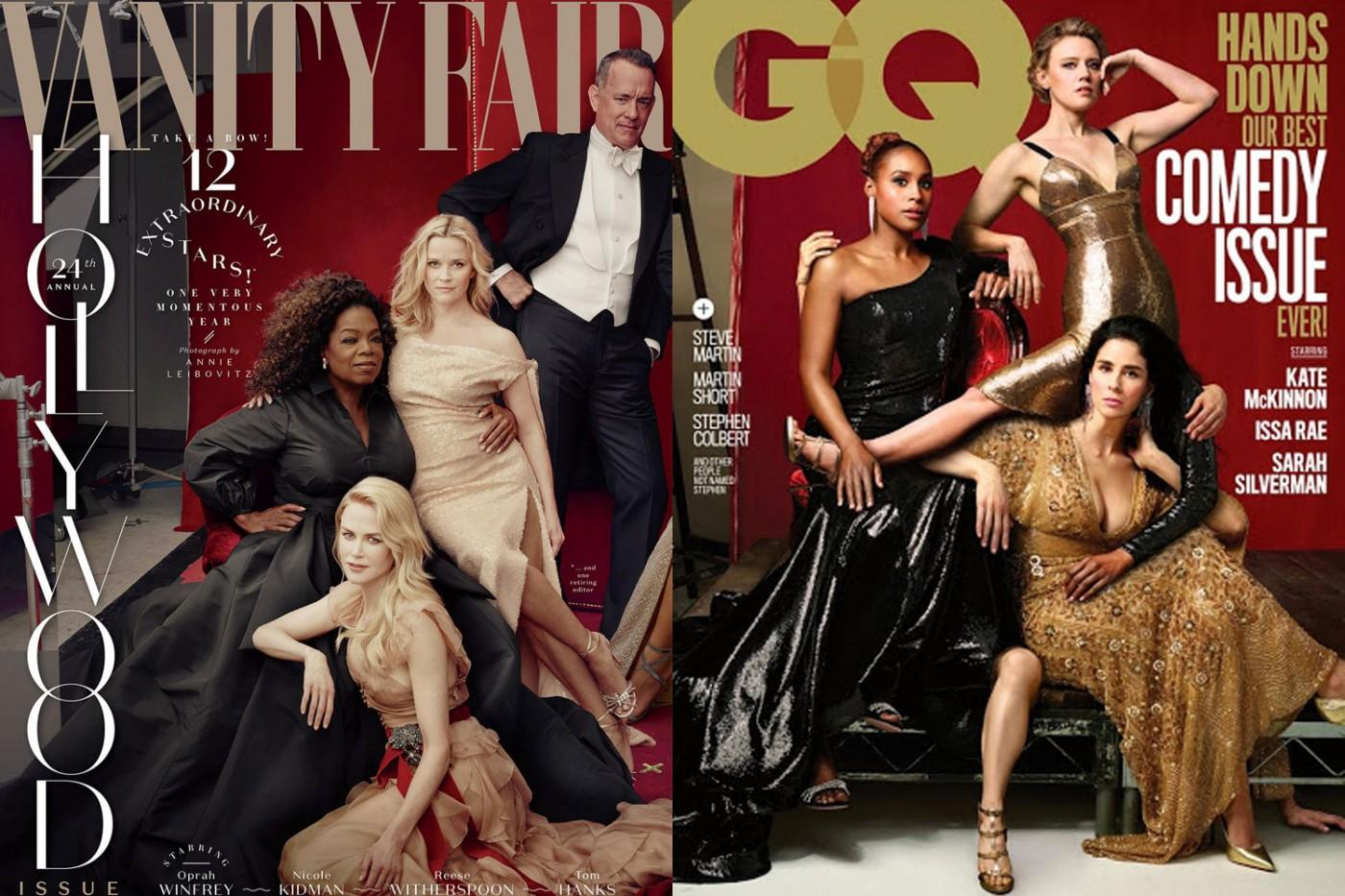 GQ mocks Vanity Fair's Photoshop job with new cover