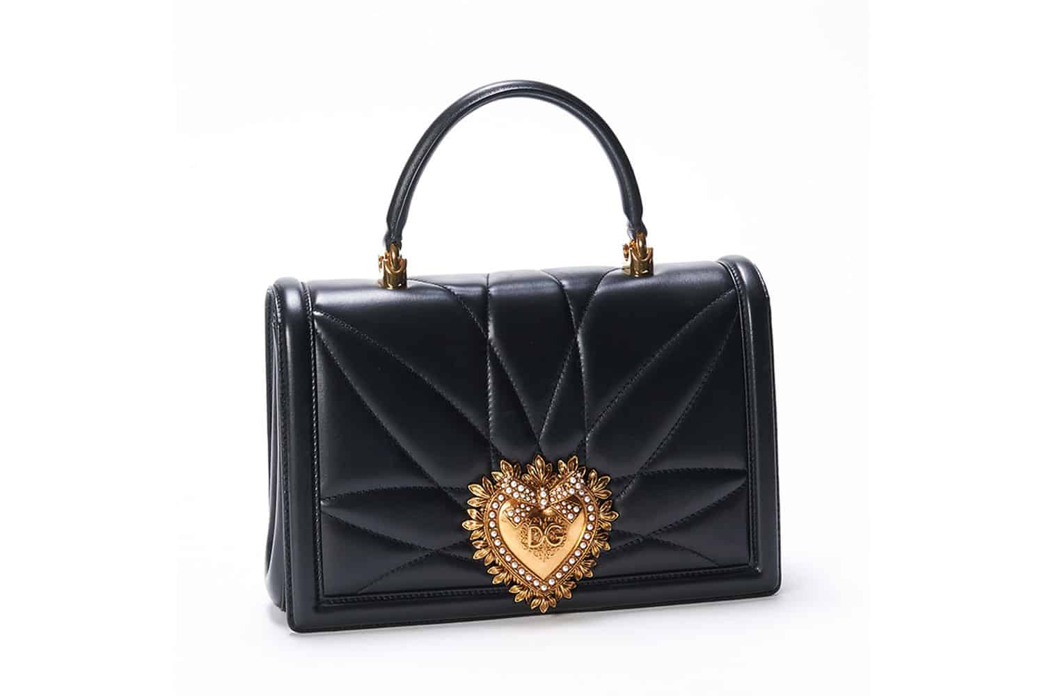 Editor s Pick  Dolce   Gabbana s Large Devotion Bag 922d236bff2ca