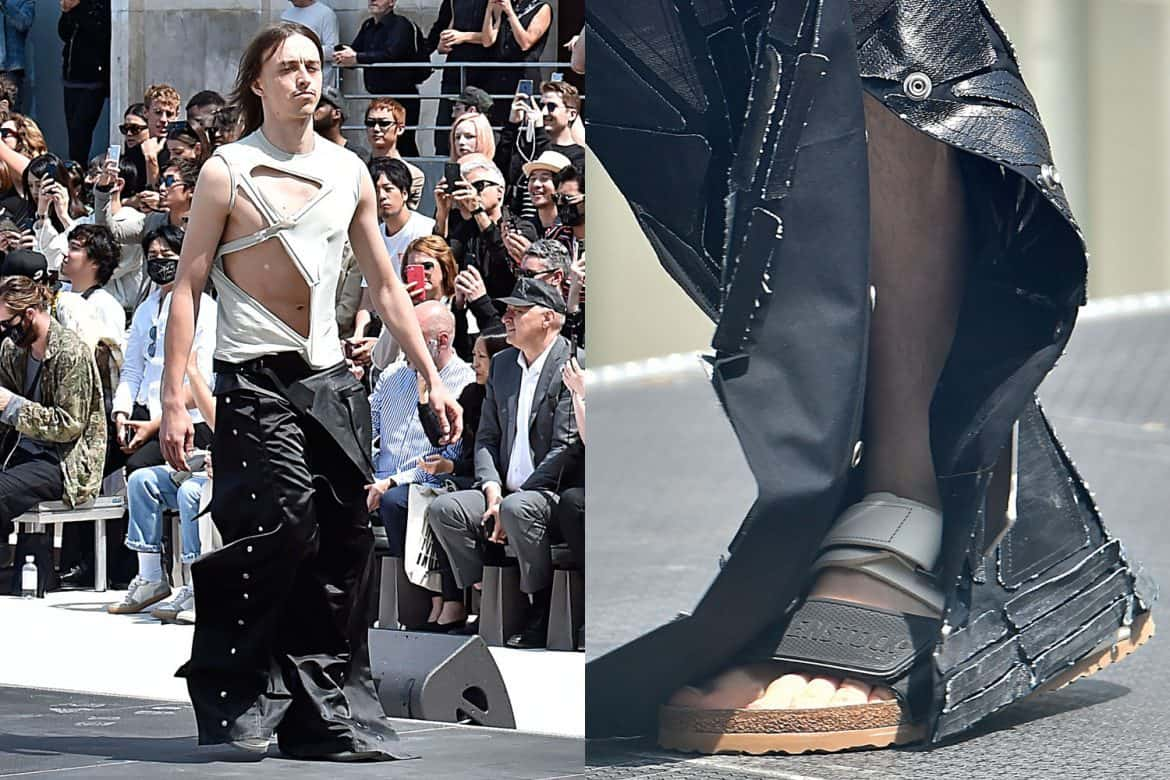 rick owens is bringing back jncos � this time with