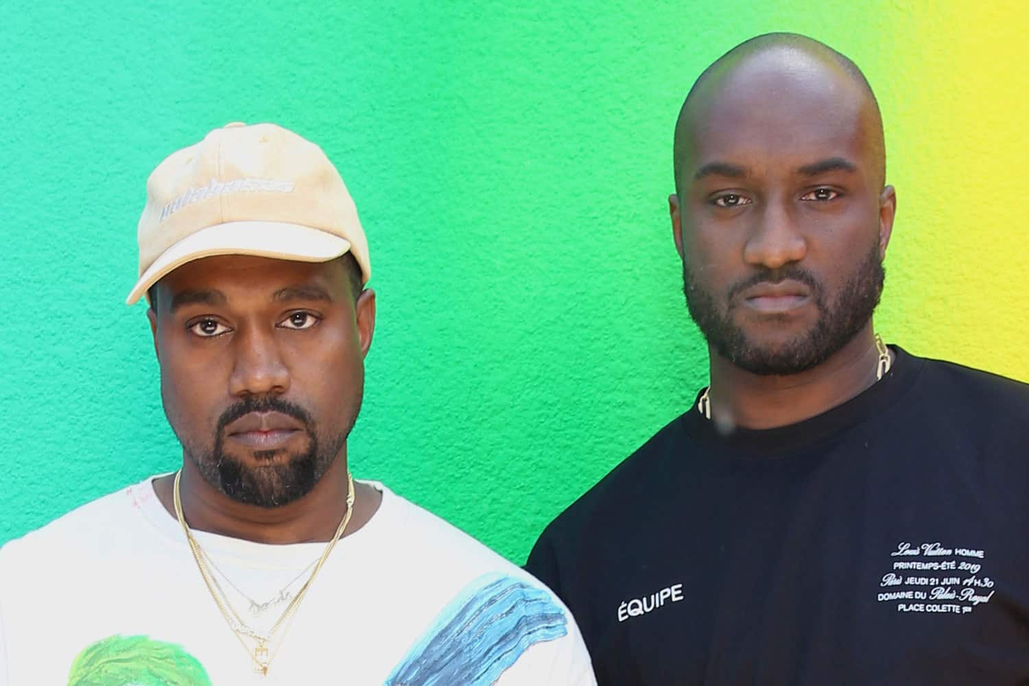 8fd3e25100db Virgil and Kanye Share a Hug and a Cry at the Louis Vuitton Men s Show