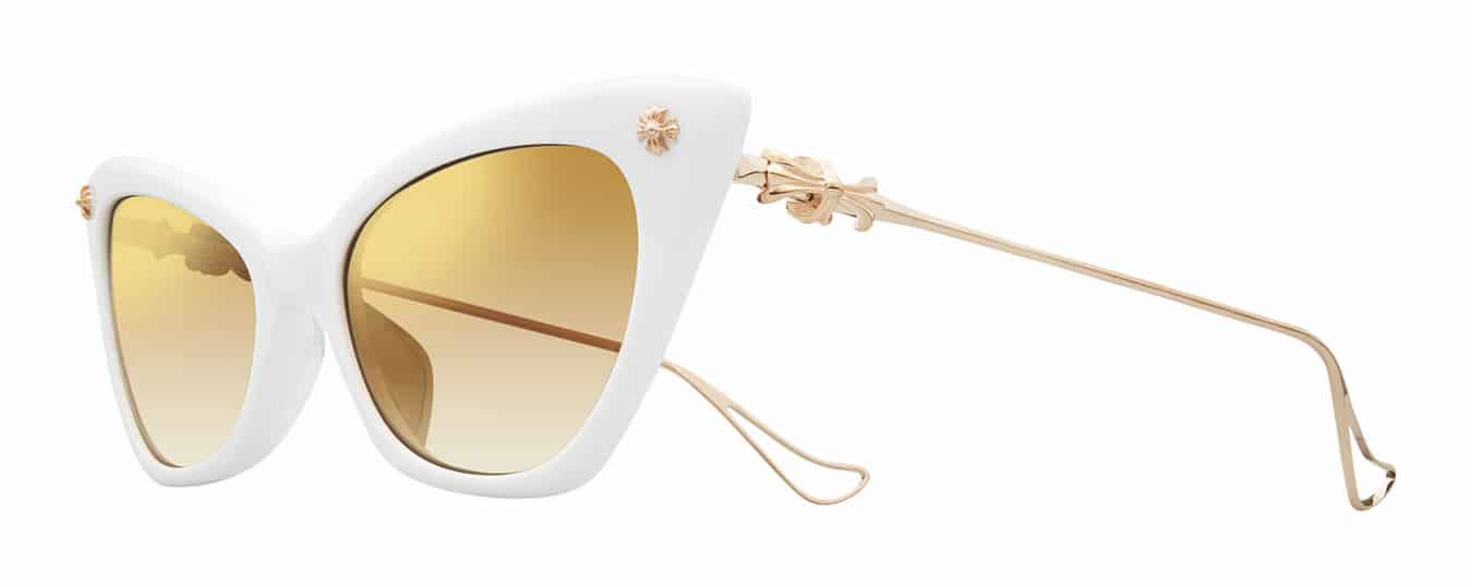 4830d5ae9a5 The sunglasses come in five colorways and are part of a capsule collection  that includes heart-shaped and rectangular frames