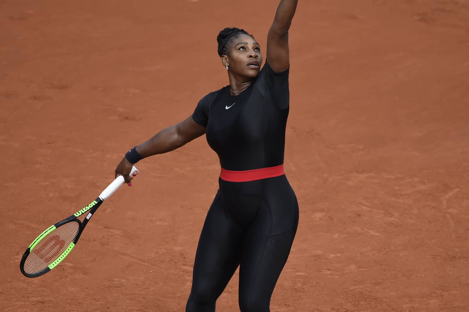 Serena Williams Responds to Catsuit Ban, Supreme Accused ...