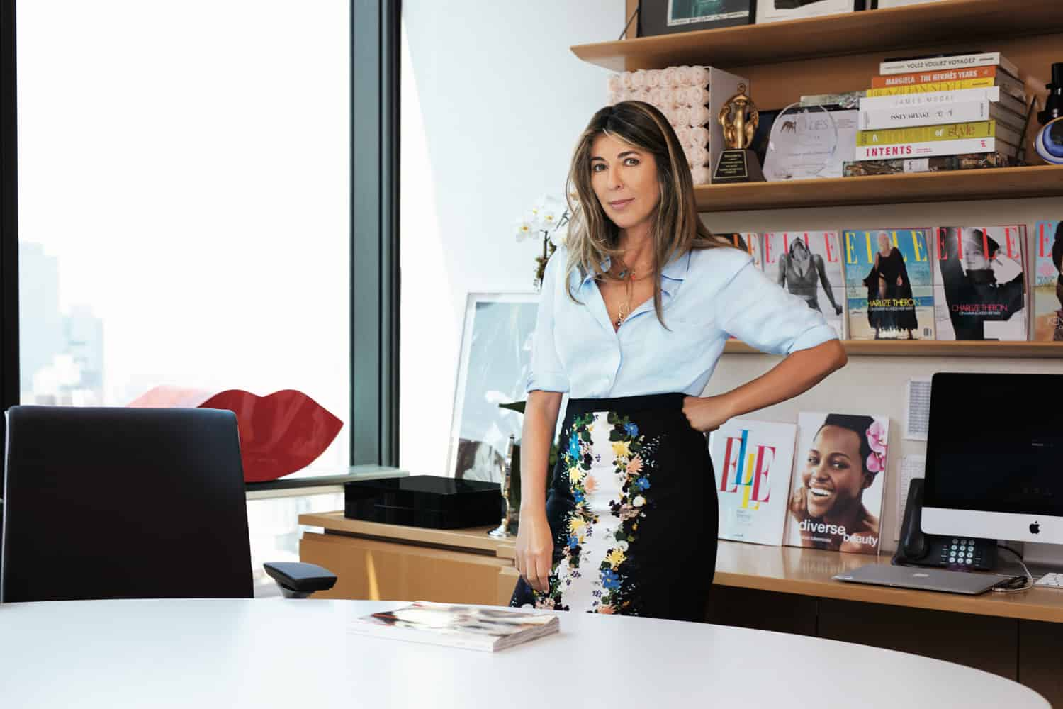 b63681a1e It s been a year since industry vet Nina Garcia took over the top job at  Elle. The Daily stopped by her office in the Hearst Tower to learn more  about her ...