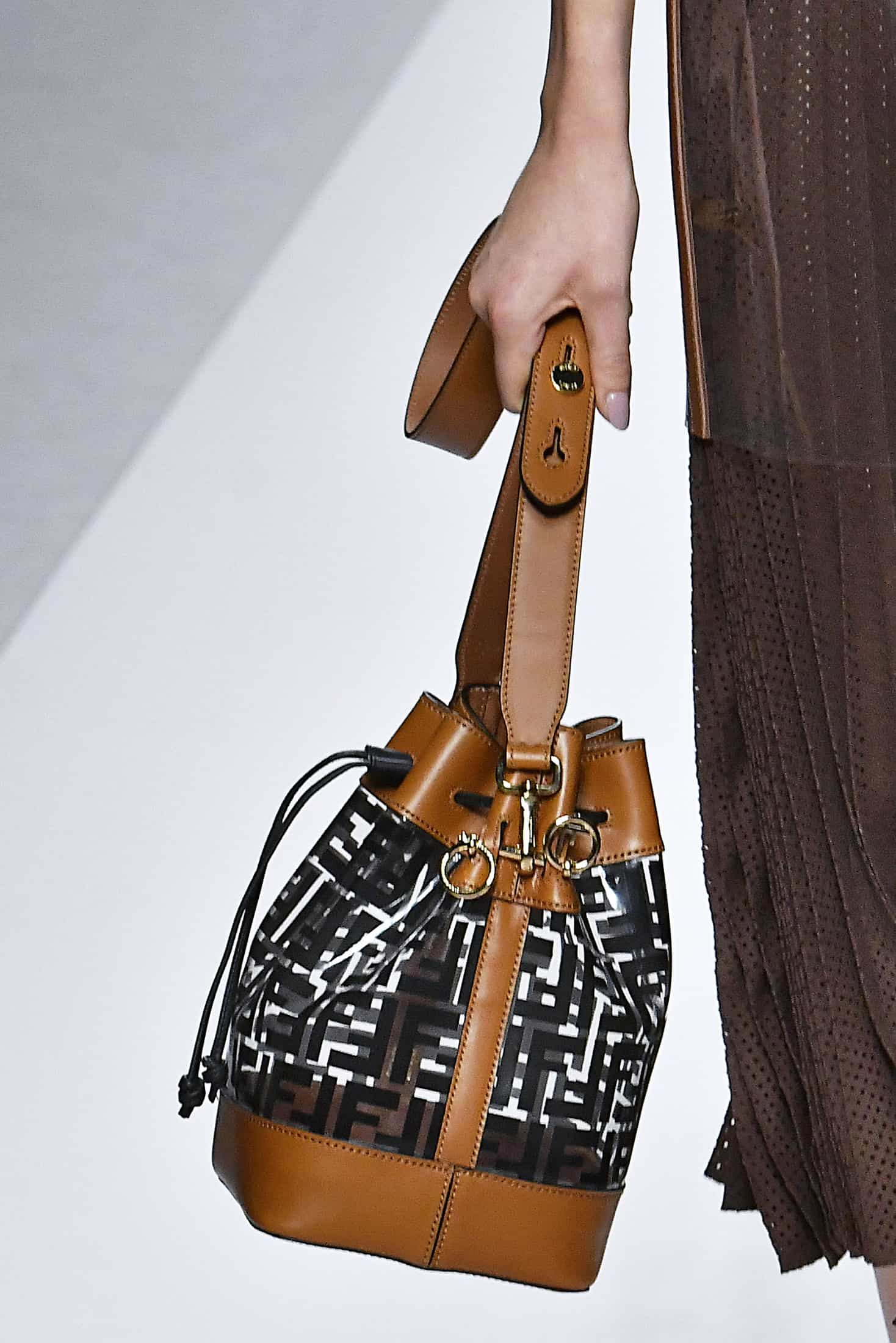 f63e26638d36 All the Jaw-Dropping Bags from Fendi s Spring 2019 Collection