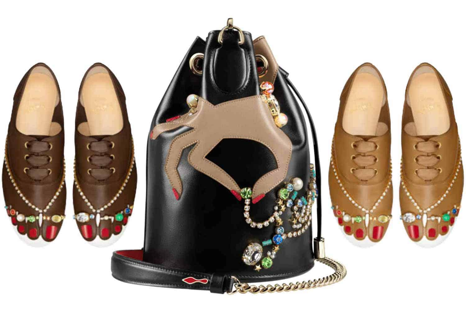 1b6c04d7d Christian Louboutin Surrealist Capsule in Nudes for Every Skin Tone