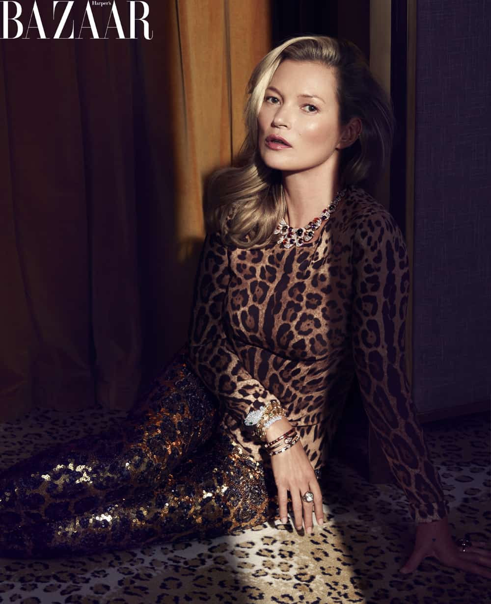 Kate Moss Gets Beauty Advice From Her 16-Year-Old Daughter