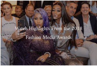 FASHION MEDIA AWARDS