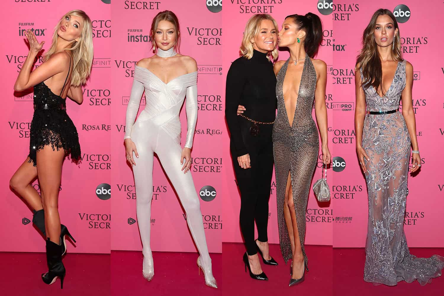 d3a282bc327 32 Hottest Red Carpet Looks From the Victoria s Secret After Party