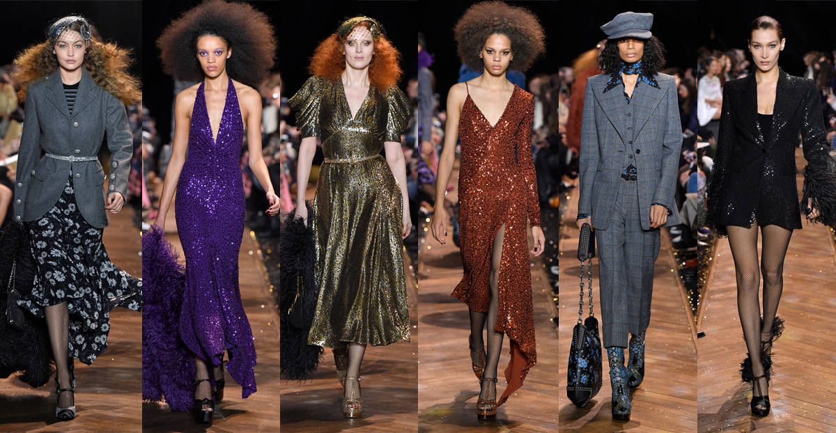 ec76e7c2d16b Michael Kors Collection for Fall 2019 was a disco dream