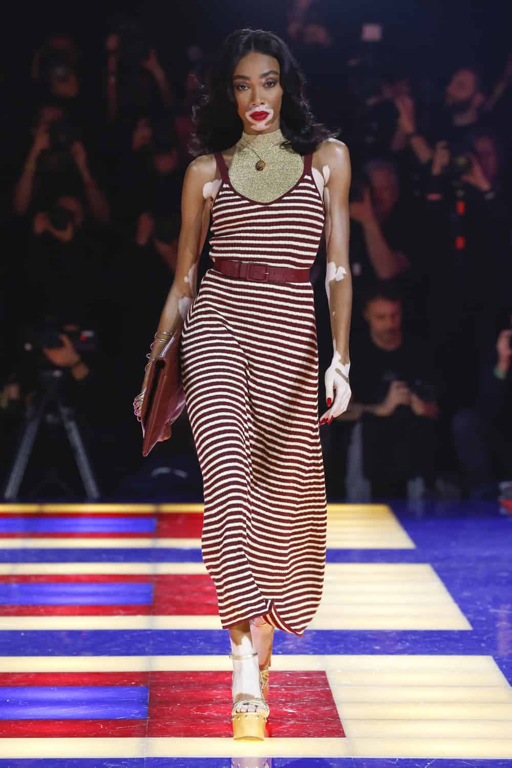 51feb47b Tommy Hilfiger and Zendaya Brought the Party to Paris Fashion Week