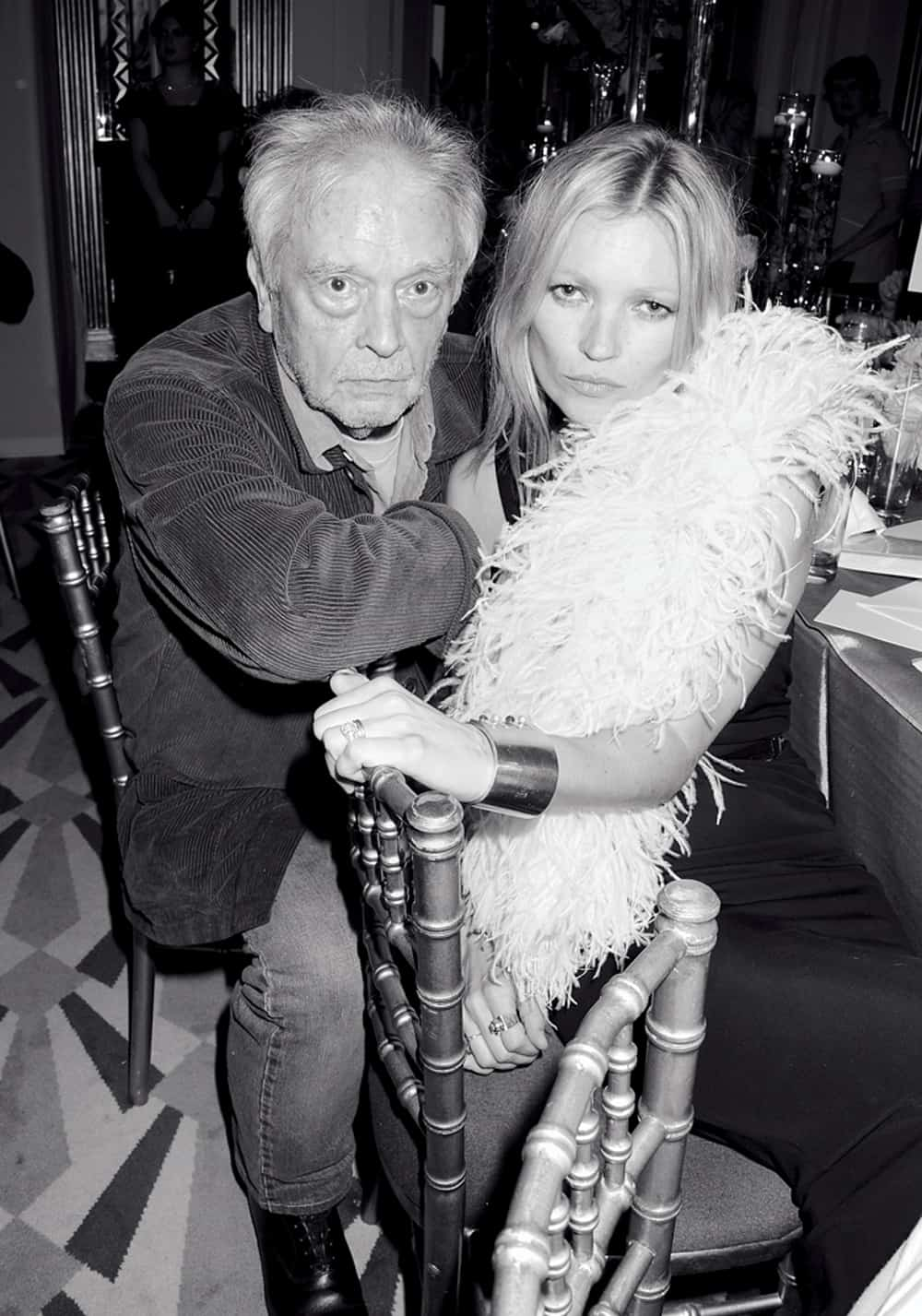 David Bailey Kate Moss