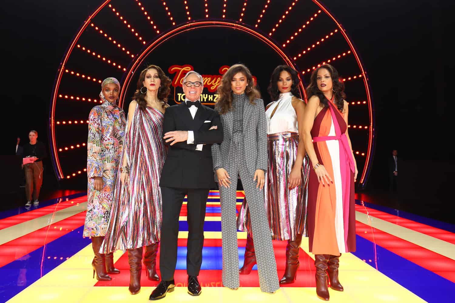 97493ba1e4e Tommy Hilfiger and Zendaya Brought the Party to Paris Fashion Week