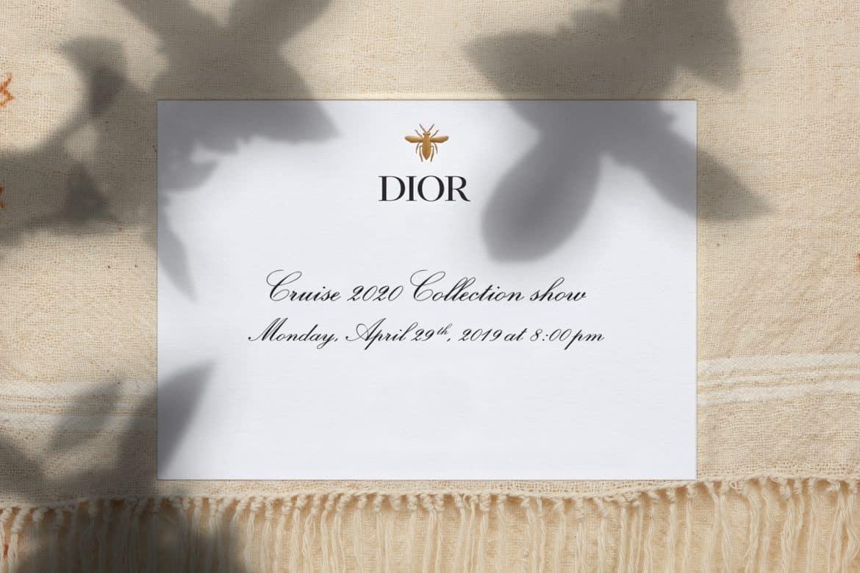 Dior 2020 resort