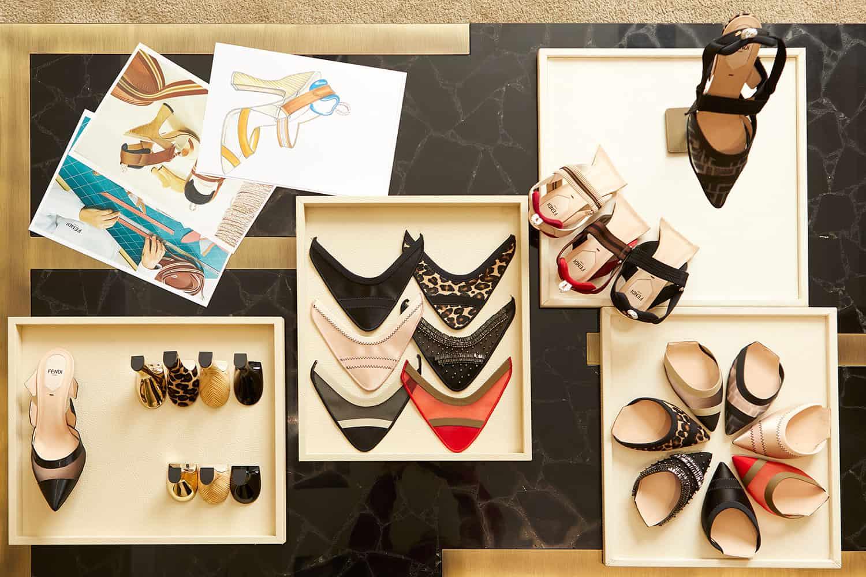 fendi custom shoes